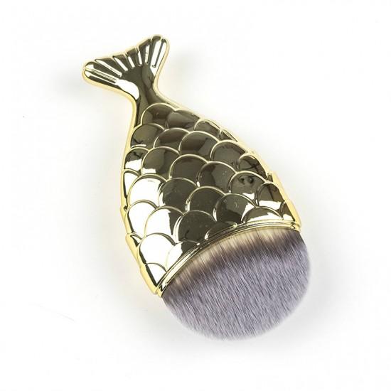 Auksinė žuvelė šepetėlis makiažui