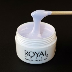 "Baltas UV gelis ""Royal Nails Perfect Line Building Ultra White"""
