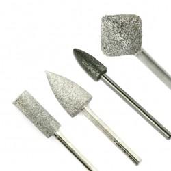 Deimantiniai frezos antgaliai