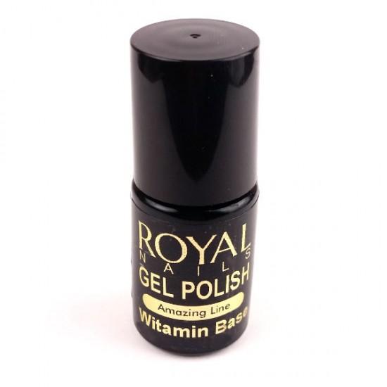 """Gelinio lako pagrindas """"Royal Nails Vitamin Base"""" 5 ml."""