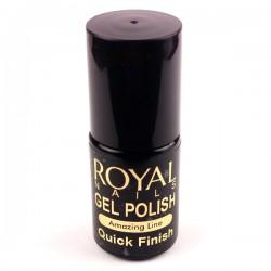 """Gelio lako viršutinis sluoksnis """"Royal Nails Quick Finish"""""""