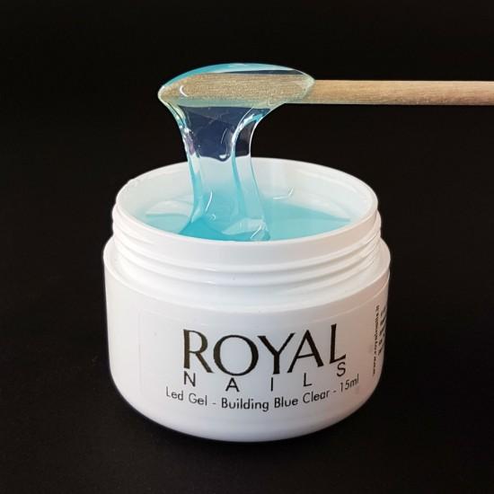 """LED gelis """"Royal Nails Led Gel Building Blue"""""""