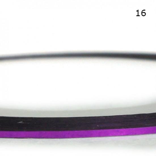 Lipni juostelė nagų dailei - 20 skirtingų atspalvių