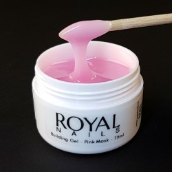 "Maskuojantis UV gelis nagams ""Royal Nails Perfect Line Building Pink Mask"""