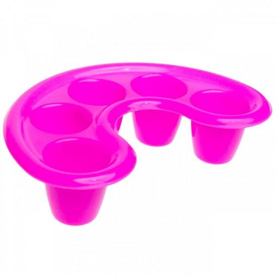 Plastikinis indelis-vonelė nagų mirkymui