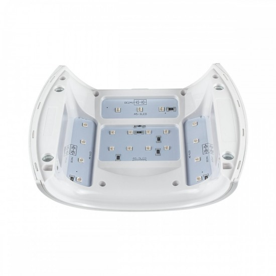 Trys viename 48W LED/UV/RED lempa nagams Excellent PRO