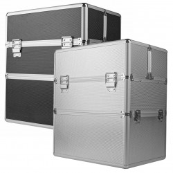 Dvigubas kosmetinis lagaminas