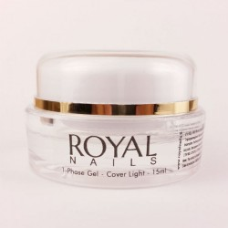 "Vienfazis UV gelis ""Royal Nails Cover Light"""