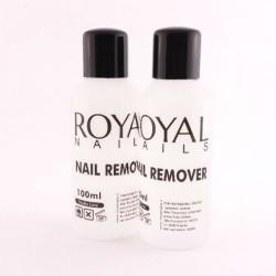 "Valiklis geliniam lakui nuimti ""Royal Nails Nail Remover"""