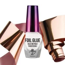 Klijai folijai skaidrūs su teptuku Foil Glue