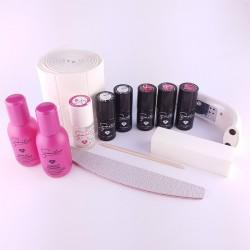 Semilac® rinkinys geliniam lakavimui su LED lempa