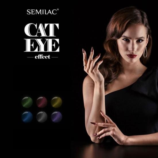 Semilac Cat Eye ilgalaikis gelinis lakas suteikiantis katės akis efektą
