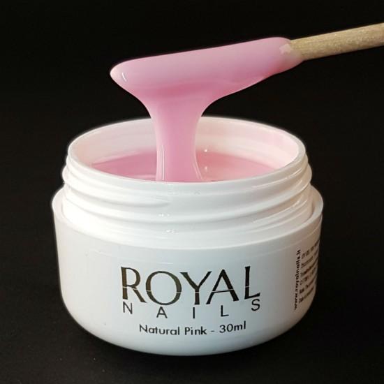 Šviesus rožinis UV/LED gelis Royal Nails Champion Line Natural Pink
