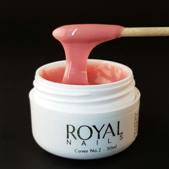 Maskuojantis UV/LED gelis Royal Nails Champion Line Cover2