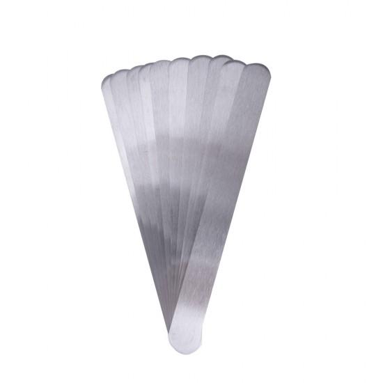 Tiesus plieninis pagrindas lanksčioms lipnioms dildėms 18cm