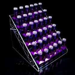36 vietų ekspozicinis stovelis nagų lako buteliukams