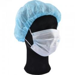 Medicininė vienkartinė trijų sluoksnių veido kaukė