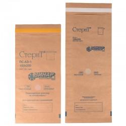 Popieriniai maišeliai įrankių sterilizavimui su išoriniais indikatoriais