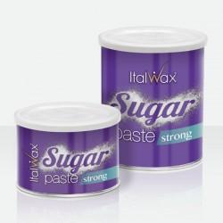 Cukraus pasta plaukų šalinimui ItalWax Strong skardinėje