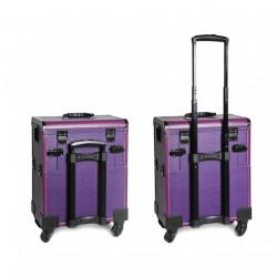 Kosmetikos lagaminas su ratukais