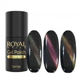 Katės akies efekto ilgalaikis lakas Royal Nails Amazing Cat Eye