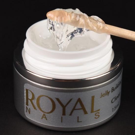 Maskuojantis gelis želė Royal Nails Jelly Building Clear