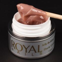 Maskuojantis gelis želė Royal Nails Jelly Building Dark Cover