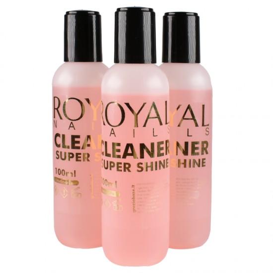 "Nuriebalintojas su blizgesiu ""Royal Nails Cleaner Super Shine"""