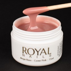 Pagrindas su atspalviu Royal Nails Champion Mega Base Cover Pink