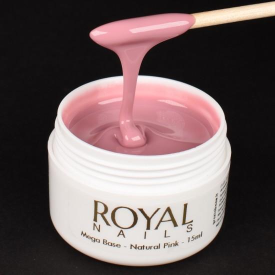 Pagrindas su atspalviu Royal Nails Champion Mega Base Natural Pink