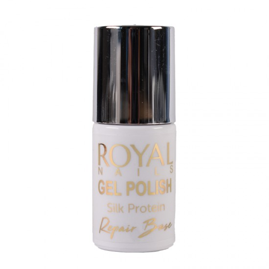 Pagrindas su šilko proteinu Royal Nails Amazing Line Repair Base Silk Protein