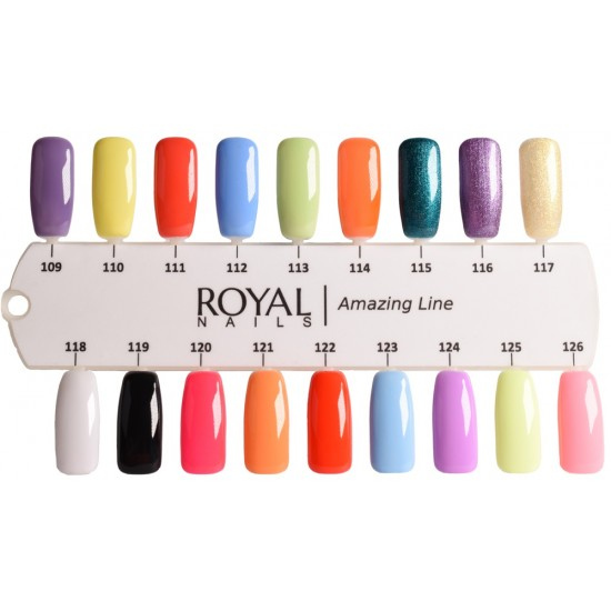 20 Royal Nails Amazing Line atspalvių plius 48W LED lempa