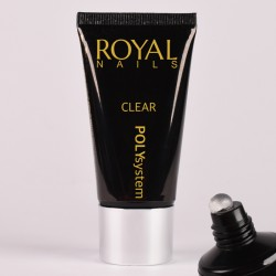 Skaidrus poly gelis Royal Nails Poly System Clear