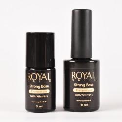 Tirpus UV / LED gelio pagrindas su vitaminais Royal Nails Strong Base With Vitamins