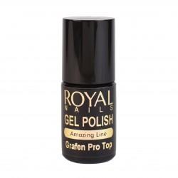 Viršutinis apsauginis lako sluoksnis Royal Nails Grafen Pro Top