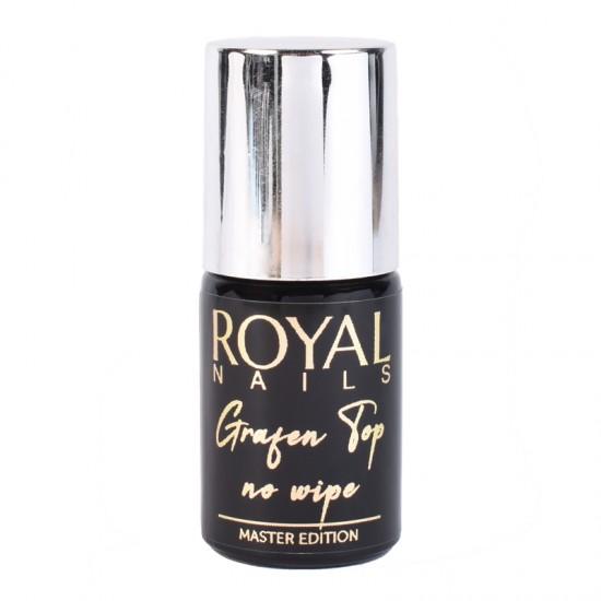 Viršutinis sluoksnis be lipnumo Royal Nails Grafen Top No Wipe