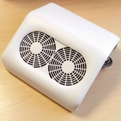 45W Dulkių surinkėjas su dvejais ventiliatoriais