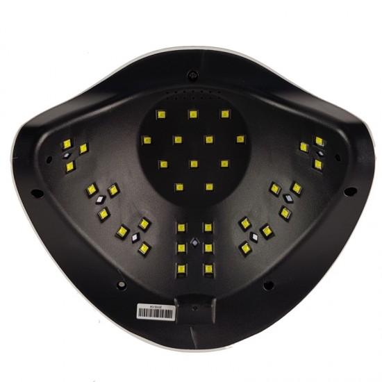 54W LED/UV profesionali lempa manikiūrui ir pedikiūrui