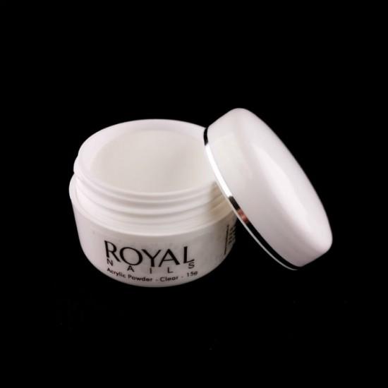 "Akrilo pudra ""Royal Nail Clear"""