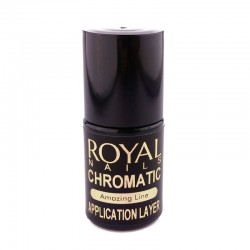 Aplikatorius blizgioms pudroms be lipnaus paviršiaus Royal Nails Chromatic Application Layer 5ml