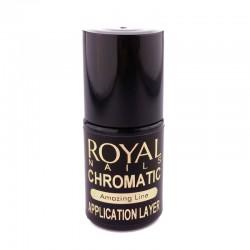Aplikatorius blizgioms pudroms be lipnaus paviršiaus Royal Nails Chromatic Application Layer 5ml