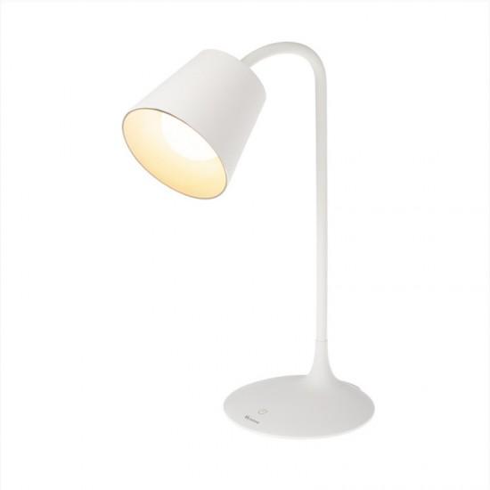 Apvalios formos LED šviestuvas su baterija