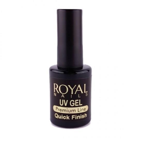 "Baigiamasis gelis ""Royal Nails UV Quick Finish""  10 ml."