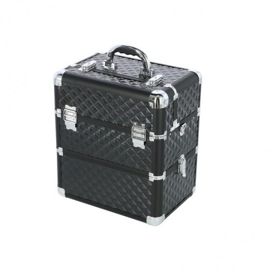 Dvigubas lagaminas kaustytais kampais su 3D efektu