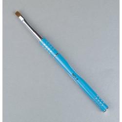 Išskirtinio dizaino mėlynas teptukas geliui