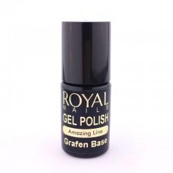 """Ilgalaikio lako kaučiukinis pagrindas """"Royal Nails Grafen Pro Base"""""""