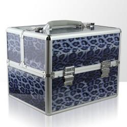 Įvairiaspalvis kosmetinis lagaminas