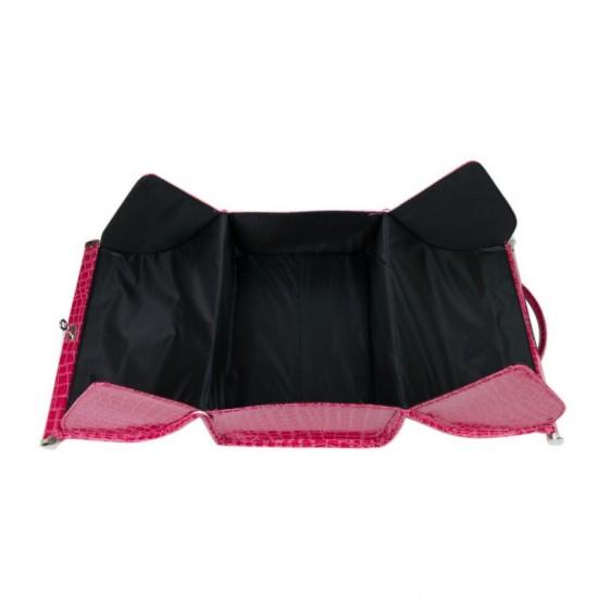 Kosmetikos lagaminas Deluxe Leather
