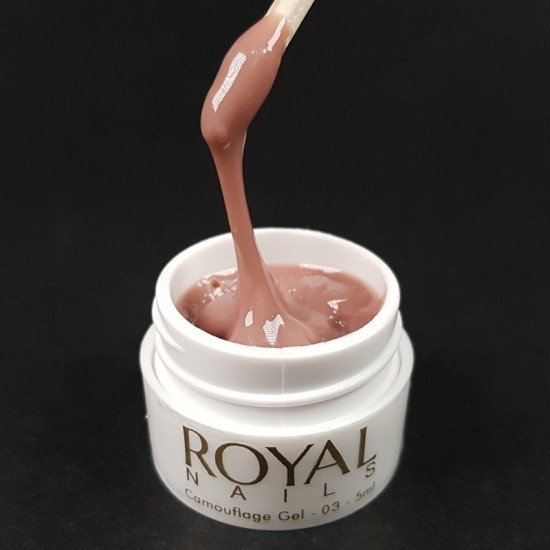 """Modeliavimo UV gelis nagams """"Royal Nails Perfect Line Camouflage 03"""""""