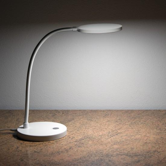 Nedidelis LED šviestuvas su baterija mobiliems meistrams H6